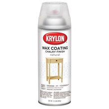 Krylon Chalky Finish Wax Coating, Natural