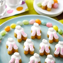 Bunny Tail Mini Cakes