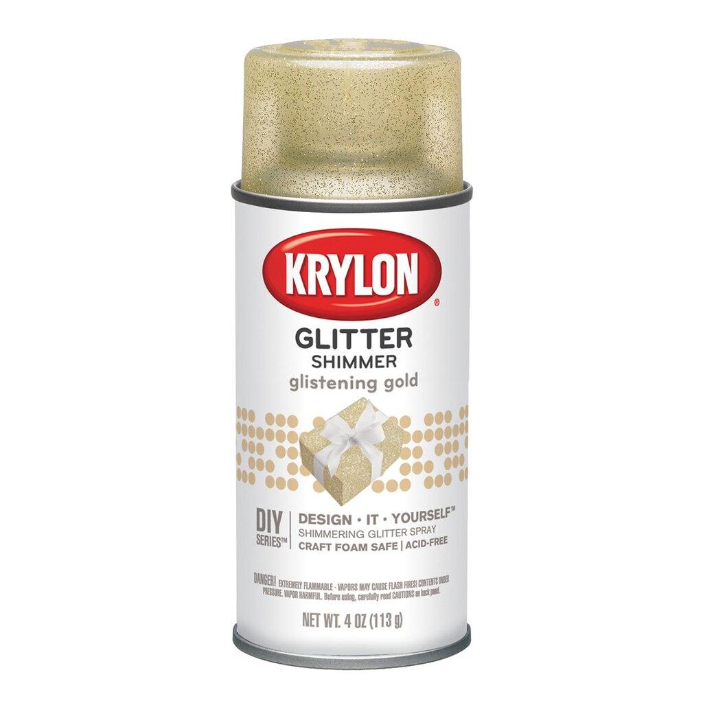 Krylon glitter shimmer spray for Spray glitter for crafts