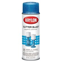 Krylon Glitter Blast, Sapphire Shimmer