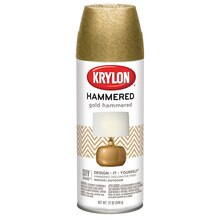 Krylon Hammered Finish, Gold