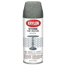 Krylon Fine Stone Textured Finish, Granite