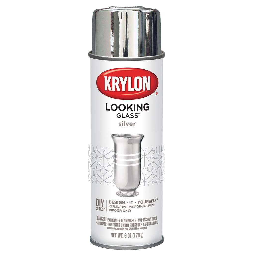 krylon looking glass paint. Black Bedroom Furniture Sets. Home Design Ideas