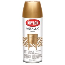 Krylon Metallic Paint, Brass