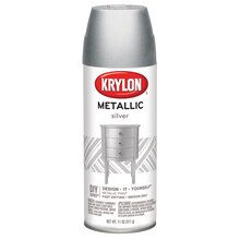 Krylon Metallic Paint, Silver