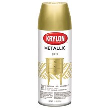 Krylon Metallic Paint, Gold