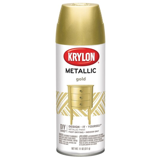 Spray Paint Golden For Plastic