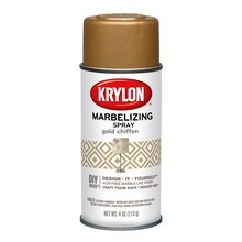 Krylon Chiffon Webbing Spray, Gold