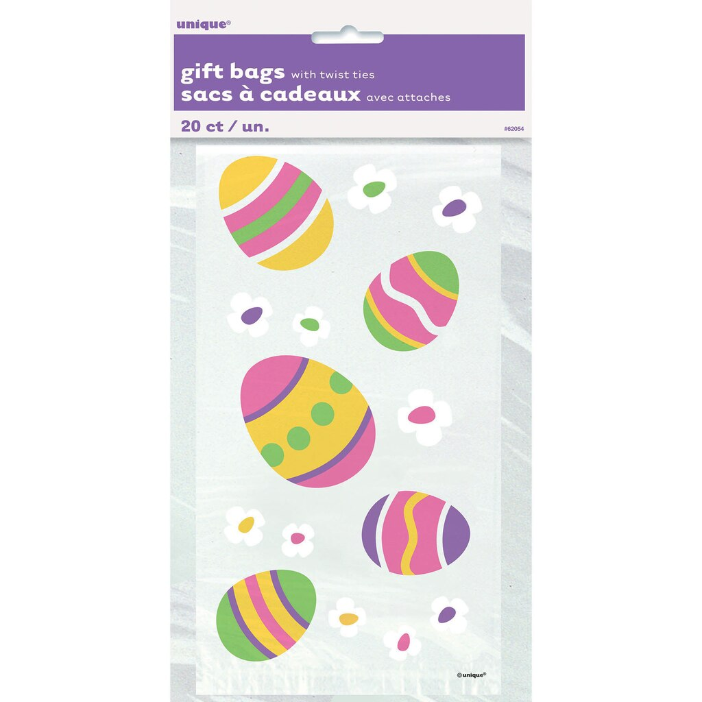 Easter cellophane bags 20ct negle Images