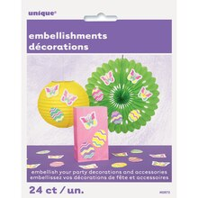 Paper Easter Embellishments, 24ct