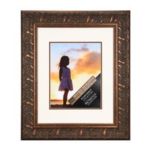 Studio Décor Portrait Collection Ornate Bronze Frame With Double Mat