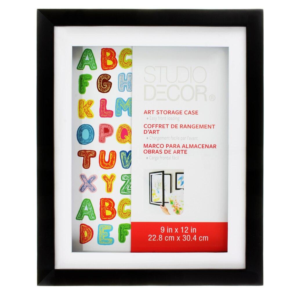 Studio Décor® Art Storage Case, Black 9\