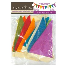 Dimensions Needlecrafts Mini Felt Pennant Banner
