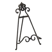 Studio Décor Viewpoint Notting Hill Rustic Easel, Black