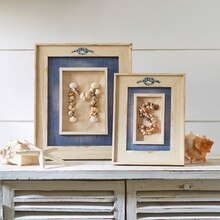 Make Market™ Coastal: Framed Shell Initials