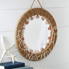 Make Market™ Coastal: Embellished Rope-Wrapped Mirror