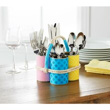 Upcycling: Soup Can Silverware Organizer, medium