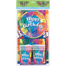 Brilliant Birthday Party Pack For 8