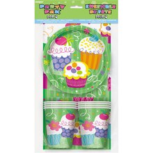Cupcake Party Pack For 8