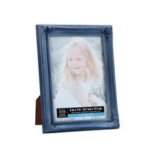 "Studio Décor Viewpoint Notting Hill Chloe Frame, Blue 5"" x 7"""