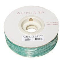Afinia Value-Line Color Change ABS Filament, Blue/Green & Yellow/Green