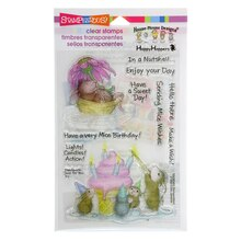 Stampendous Mice Wishes Perfectly Clear Stamps