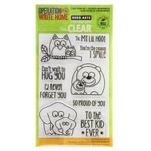 Hero Arts OWH Lil Hoot Clear Stamp Set