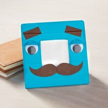 Father's Day Mr. Mustache Duck Tape® Frame