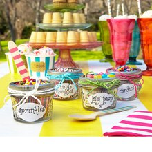 Party: Jelly Jar Ice Cream Bar