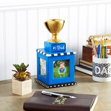 "Father's Day ""#1 Dad"" Trophy"