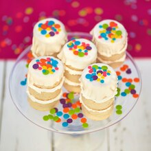 Party: Mini Naked Confetti Cakes