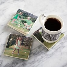 Father's Day: Photo Transfer Coasters