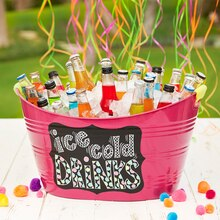 Ice Cold Drink Tub