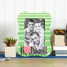 """I Heart Dad"" Frame"