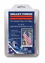 Valley Forge Printed Polycotton United States Flag