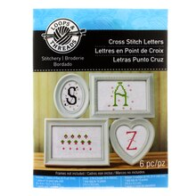 Loops & Threads Cross Stitch Letters Kit