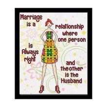 Loops & Threads Marriage Counted Cross Stitch Kit