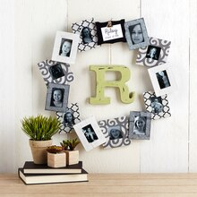 Personalized Photo Frame Wreath