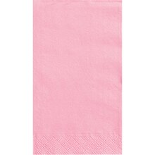 Light Pink Paper Guest Towels, 20ct