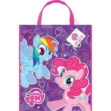 "Large Plastic My Little Pony Favor Bag, 13"" x 11"", medium"