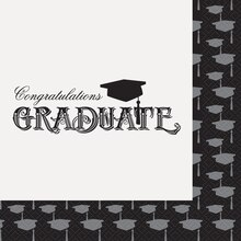 Classic Graduation Luncheon Napkins, 20ct
