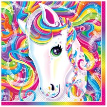 Rainbow Majesty® by Lisa Frank Luncheon Napkins, 16ct, medium