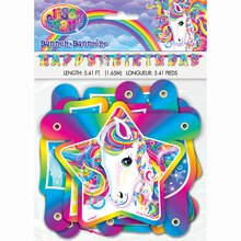 Rainbow Majesty® by Lisa Frank Letter Banner, 5.5 Ft., medium
