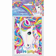 Rainbow Majesty® by Lisa Frank Invitations, 8ct, medium