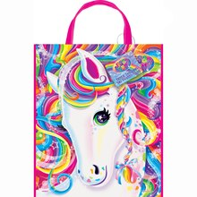 "Large Plastic Rainbow Majesty® by Lisa Frank Favor Bag, 13"" x 11"", medium"