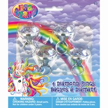 Rainbow Majesty® by Lisa Frank Diamond Rings, 4ct, medium