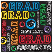 Graduation Party Luncheon Napkins, 16ct