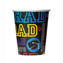 9oz Graduation Party Paper Cups, 8ct