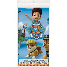 Plastic PAW Patrol Table Cover