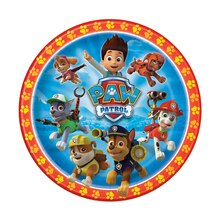 "9"" PAW Patrol Dinner Plates, 8ct"